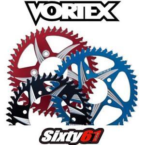 GSXR 750 Rear Sprocket 2001-2009 2010 Suzuki Vortex 525 36-54 Blue Black Red