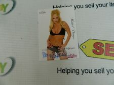 """autographed Bench Warmer Cards """"MISHEL THORPE"""" From Series In 2005"""