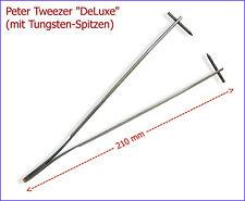 Peter Tweezer DeLuxe - Markierungspinzette & Ösenformer mit Tungsten-Spitzen