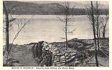 5271)  WW1 MONTE SAN MICHELE (GORIZIA) SECONDA LINEA ITALIANA ALLE ROCCE ROSSE.