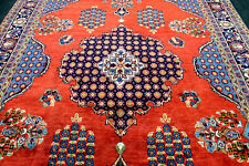 8X13 One In A Million Masterpiece Mint Hand Knotted Rare Viss Oriental Wool Rug