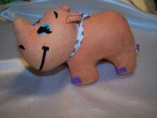 Rhinestone Rhino - Dream Pets from Applause/Dakin-Nwt #45980 Velveteen Stuffed
