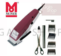 MOSER TYPE 1400 KIT COMPLETO TOSATRICE TAGLIACAPELLI PROFESSIONALE