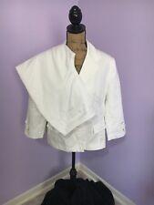 2 Piece Pants Suit White Size 14 Isabella Suits