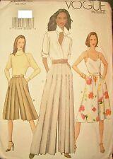 Miss Vogue 7410 Sewing Pattern Wide Leg Culottes 2 Lengths UNCUT Size 14-16-18