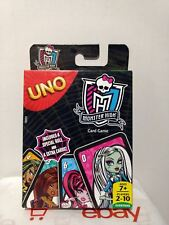 Uno Card Game - Monster High Edition