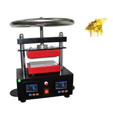 "2.4""x4.7"" Hand Rosin Press Machine Crank Duel Heated Plates Heat Transfer 220V"