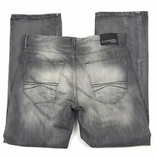Express Kingston Gray Jeans Mens Size 34 x 31 Boot Cut Classic Fit