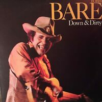 **BOBBY BARE Pre-Owned LP**'DOWN & DIRTY***RARELY PLAYED
