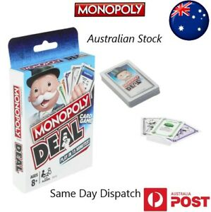 🎩MONOPOLY DEAL CARD GAME-2 To 5 Players - BRAND NEW Family Board Games🎩