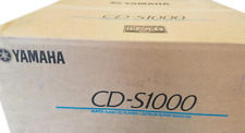 New listing Brand New Yamaha Cd-S1000 Cd Player (Black) Retail $1,300 each