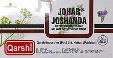 QARSHI - JOHAR - JOSHANDA HERBAL TEA -  HERBAL COLD  & FLU REMEDY - 60 SACHETS