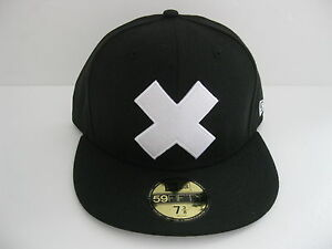 NEW ERA 59FIFTY ONE PIECE - CHOPPR - WHITE X WITH MAP 59FIFTY FITTED CAP blue