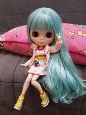 "12"" Neo Blythe Doll Blue Hair  Nude Blythe Doll from Factory JSK05"