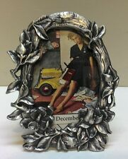 WHOLESALE...Smal Detailed Nature Pewter Picture Frame (Lot of 5)