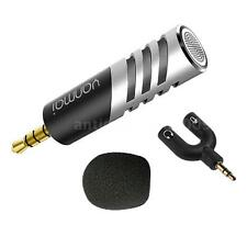 Mini R1 Professional Condenser Microphone Record for Mobile Phone iPhone Black