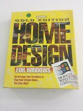 Gold Edition Home Design (1993, CD-ROM, Computer Software)