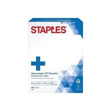 Staples Heavyweight 8.5 x 11 Paper 28 lbs. 96 Brightness 500/RM 756971