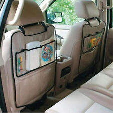 Auto Car Seat Back Protector Cover for Children Kick Mat Mud Accessory Storage