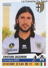 328 CRISTIAN ZACCARDO ITALIA PARMA.FC STICKER CALCIATORI 2013 PANINI