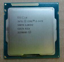 Intel Core i5-3470 SR0T8 Quad Core 3.20GHz 6M 5.00GTs Socket 1155 Processor CPU