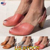 Women's Ankle Flatform Wedges Heel Retro Shoes Summer Platform Peeps Toe Sandals
