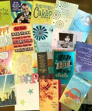 Closeout Hallmark Birthday Card Lot Of 16 Assorted Birthday Cards for Anyone