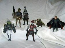 "Custom figure lot of 6  ""JEDI-MECH ""  STAR WARS  cyborg yoda, IG99, blip ETC ..."
