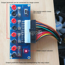NEW 24Pin Desktop PC Power ATX Transfer Board Supply Power Module Precise