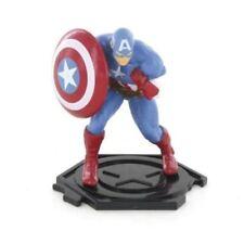 Figurines de télévision, de film et de jeu vidéo en comics, super-héros avec captain america