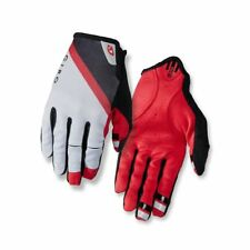 Giro DND Cycling Gloves (Grey/Dark Red/Black / X-Large Size)