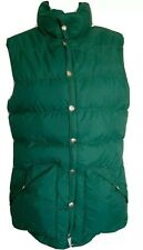 HOLUBAR Boulder CO Green Down Puffer Vest Vintage Mens SMALL EUC USA