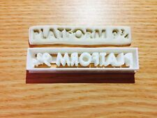 Platform 9 34 Harry potter-inspired Cookie Cutter Fondant Cake Decorating Mold