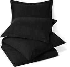 Solid Uni Mikrofaser Nur Bett Kissenbezug Schwarz Farbe Set Mit 2 Best Für Gift