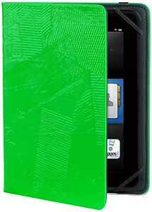 "Verso ""OMG!"" M8 Standing Cover - Kindle Fire HD 7 - iPad Mini - Neon Green"