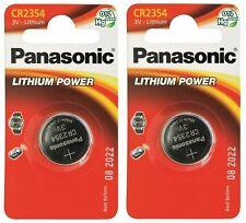 2 pile batterie CR 2354  PANASONIC x cardiofrequenzimetri POLAR e orologi SUUNTO