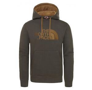 North Face Men Green Hoodie Pullover Jumper Peak Fleece Hooded S M L XL XXL