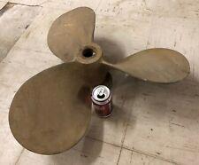 Brass Bronze Mixing Propeller - large 3 Blade