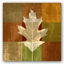 Fall Leaf II Paula Scaletta Art Print 12x12