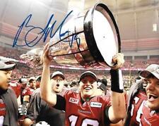Bo Levi Mitchell Calgary Stampeders CFL Football auto 8x10 photo Grey Cup wCOA