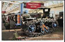 Tank Museum Bovington, Postcard, Unposted, Ruston Hornsby Tractor, By J Salmon