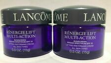 2 Lancôme Renergie Lift Multi-action Sunscreen day cream spf15 15 ml/0.5oz = 1oz