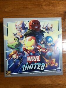Marvel united Infinity pledge + Sinister Six Kickstarter Pre-sale Ship in 2 wave