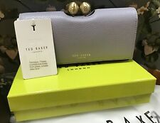 TED BAKER JOSIEY PAVE BOBBLE MATINEE BLUE GREY PURSE NEW