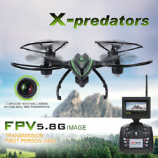 FPV Camera Drone 2Mp HD Live Video Real Time Camera Hold Mode 5.8 GHz 360 Flip