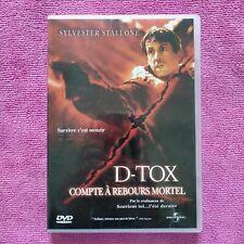 dvd film D Tox Compte à rebours mortel avec Sylvester Stallone
