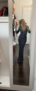 $1500 roberto cavalli dress 40 ,was purchased in Roberto Cavalli store