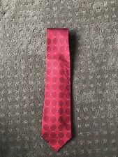 Red Nautica Tie With A Nice Design