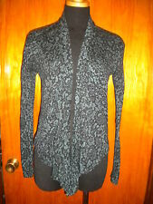 Victoria's Secret Moda International Teal Asymmetric Hem Cardigan Sweater S New