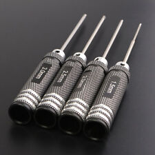 4PCS Black Long Hex / Allen Key Socket Bit Set Hex Screw Driver Tool Kit NEW